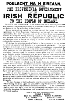 Easter Proclamation of 1916